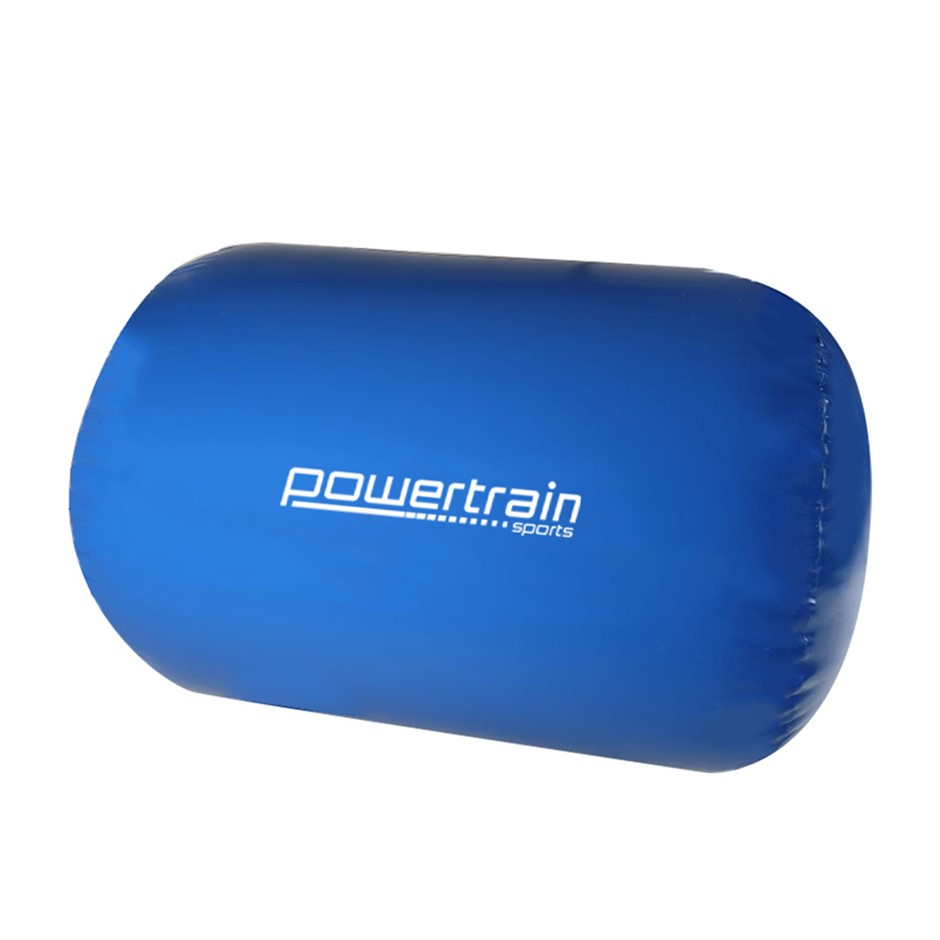 Inflatable Exercise Air Roller 120 x 75 cm - Blue