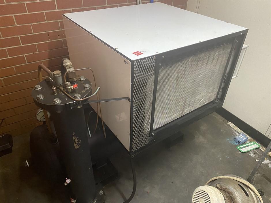 Cash Research Air Compressor with Air Reciever
