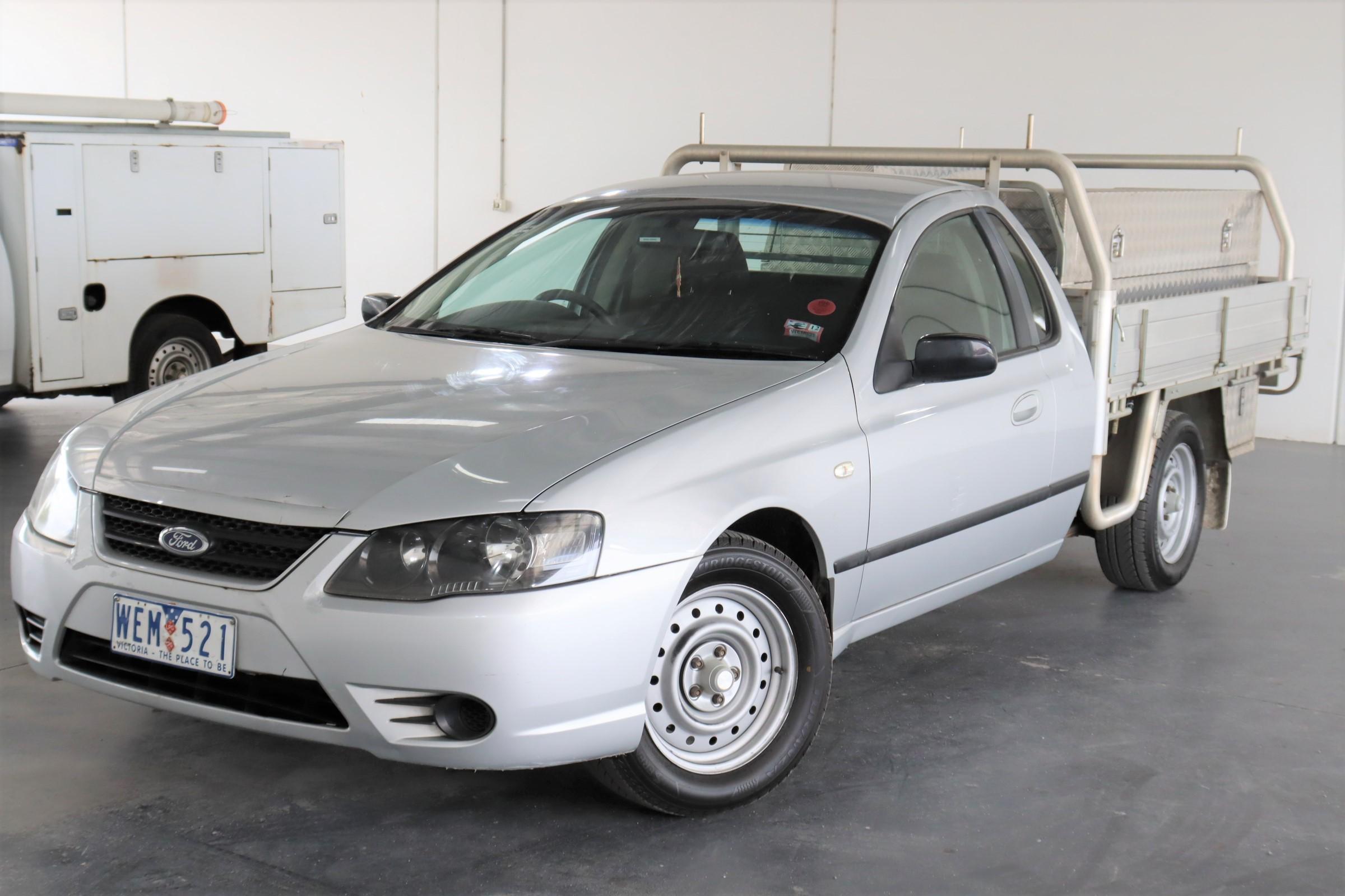 2007 Ford Falcon XL (LPG) BF MKII Automatic Ute