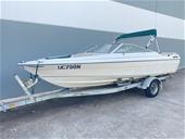 Bayliner Bow Rider Boat, Mercruiser 3.0L Engine