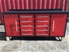 2021 Unused Workshop bench, with 10 drawers & 2 large storage compartments