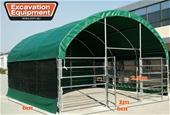 2021 Unused 6m x 6m Enclosed Shelters - Toowoomba