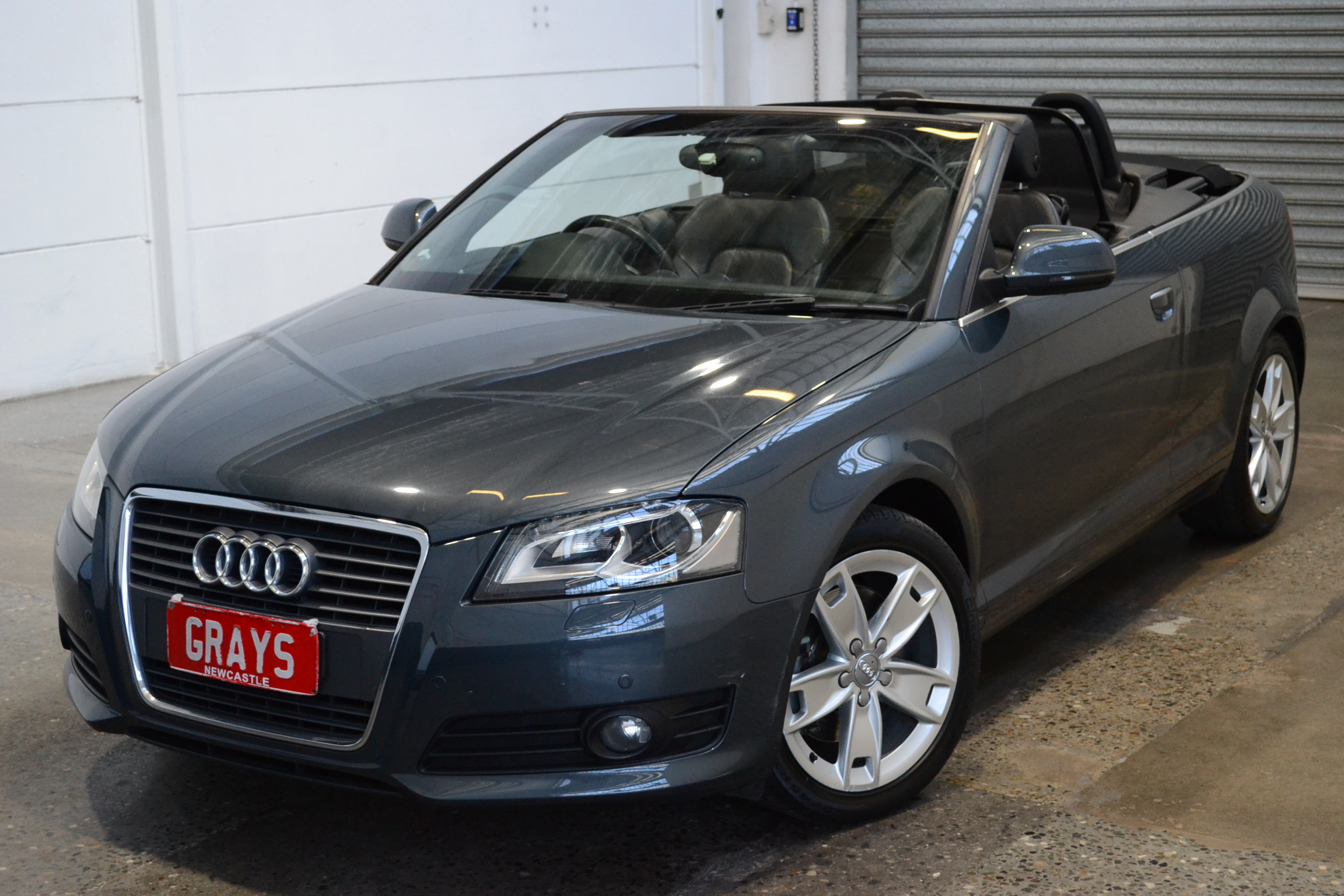 2010 Audi A3 2.0 TFSI Ambition 8P Manual Convertible