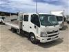 <p>2019 Hino 300 4 x 2 Tray Body Truck</p>