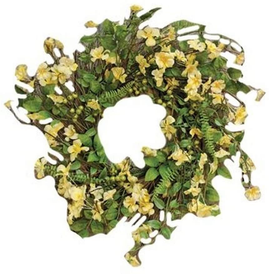 CWI GIFTS 22`` Clover Blossom Wreath. (SN:B00K0NVAV0) (278298-696)