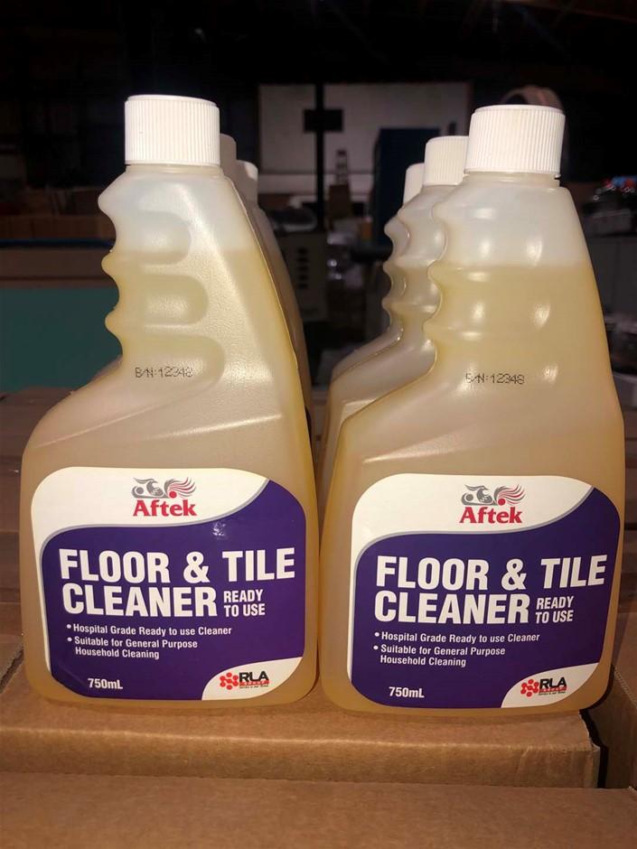 6 x 750ml Floor & Tile Cleaner, (Sold Per Box of 6 bottles), Loc: 3407
