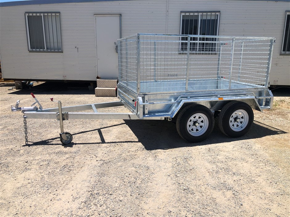 Unused 2020 8x5 Tandem Cage Trailer