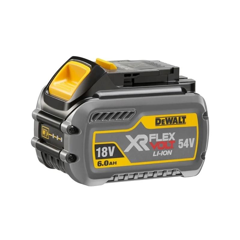 DEWALT 18V 6.0Ah/54V XR Flexvolt Battery. N.B. Power on test passed. Limite