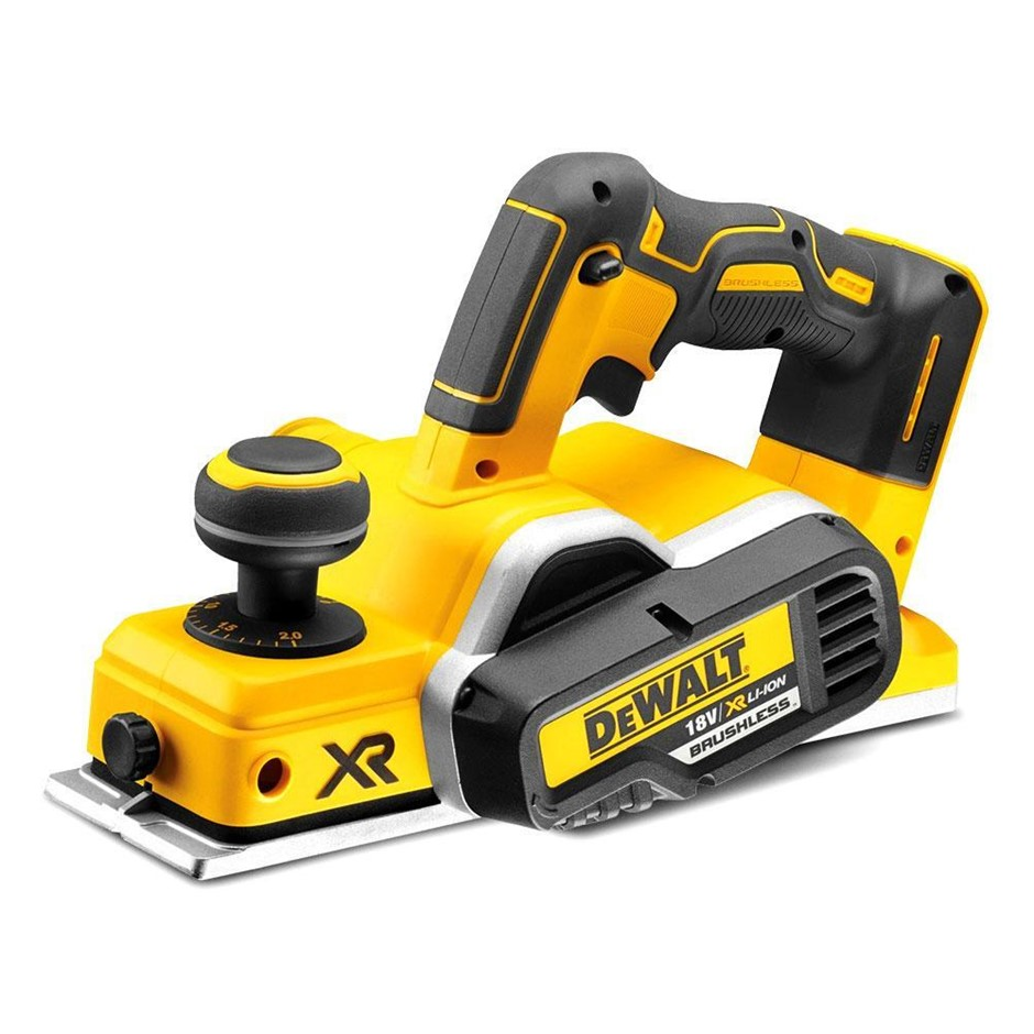DEWALT 18V XR Li-ion Cordless Brushless Planer. Skin Only. N.B. Power on te