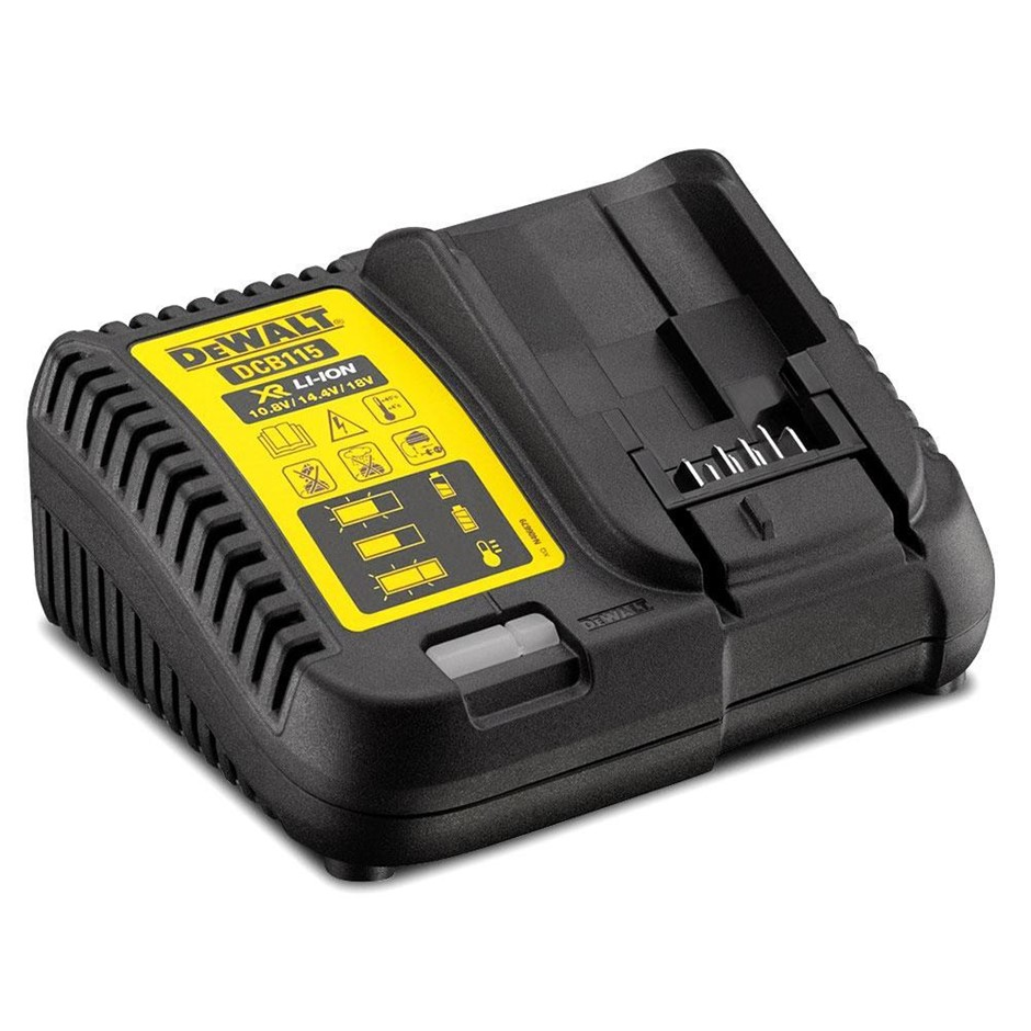 DEWALT 18V Multi-Voltage Charger. N.B. Does not turn on. Limited functions