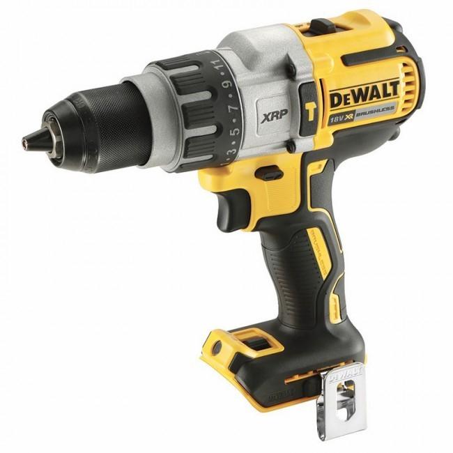DEWALT 18V Brushless 3-Speed Hammer Drill. Skin only. N.B. Does not turn on