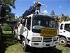 6 x 4 Crane Borer Truck