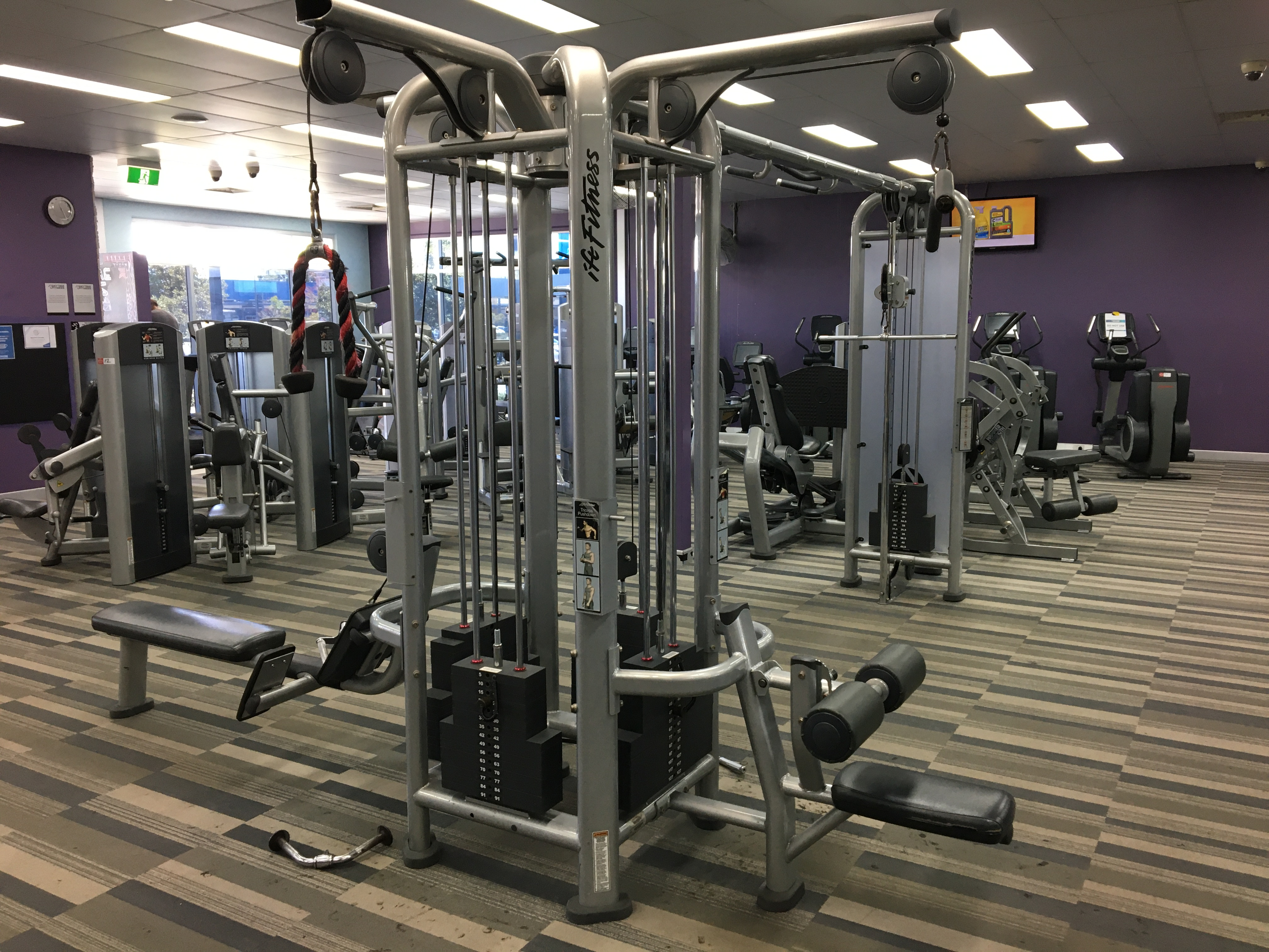 Life Fitness Multi-Function Cable Machine