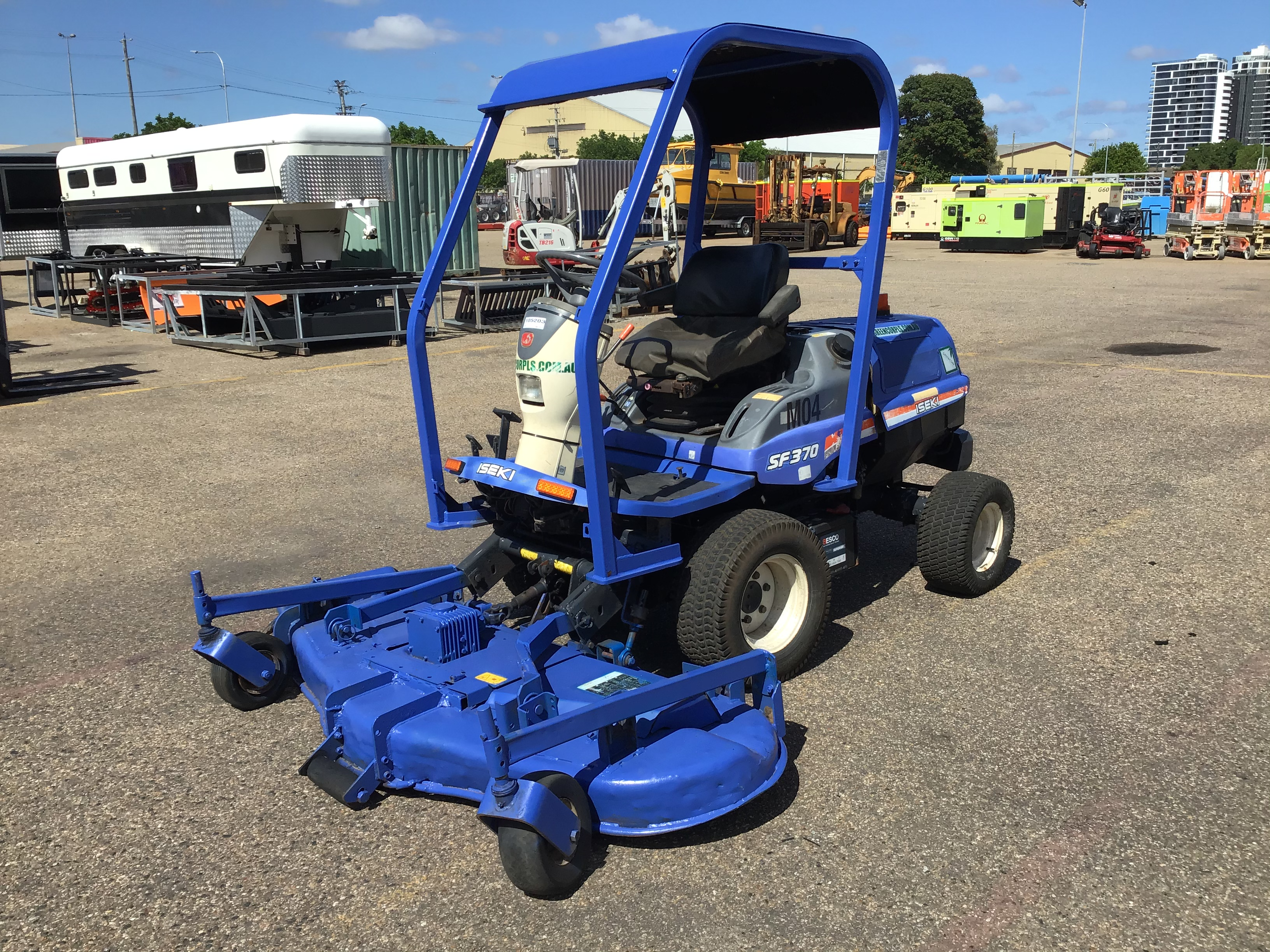 2015 Iseki SF370 Out Front Mower