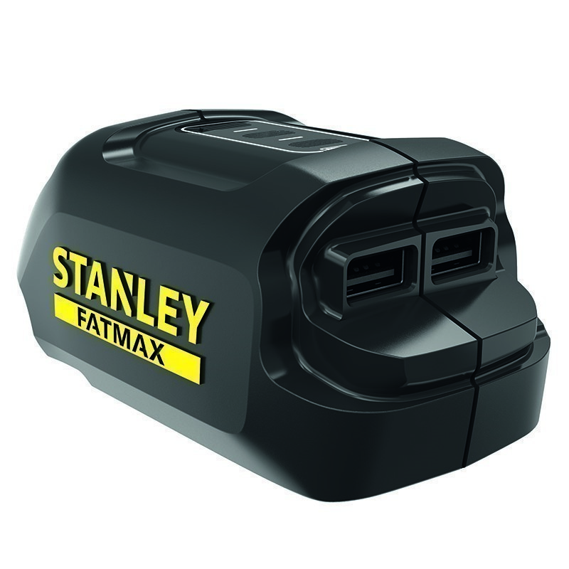 STANLEY 18V Fatmax USB Charger. Buyers Note - Discount Freight Rates Apply