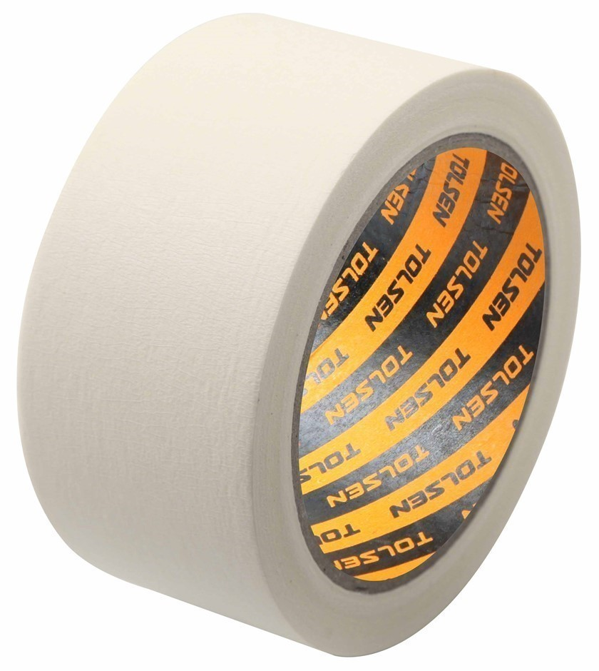 3 x Pack of 2 TOLSEN Heat Resistant Masking Tape, 18mm x 30M. Buyers Note -