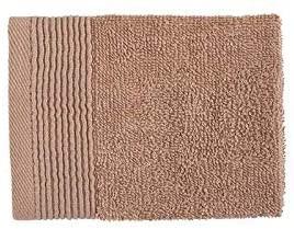 20 x BAMBURY Avira Towel Range Face Washer Pack (6), Toffee. 100% Cotton. 3