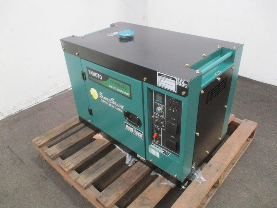 2020 Unused Yamoto IF8500T2 Diesel Generator Remote Start