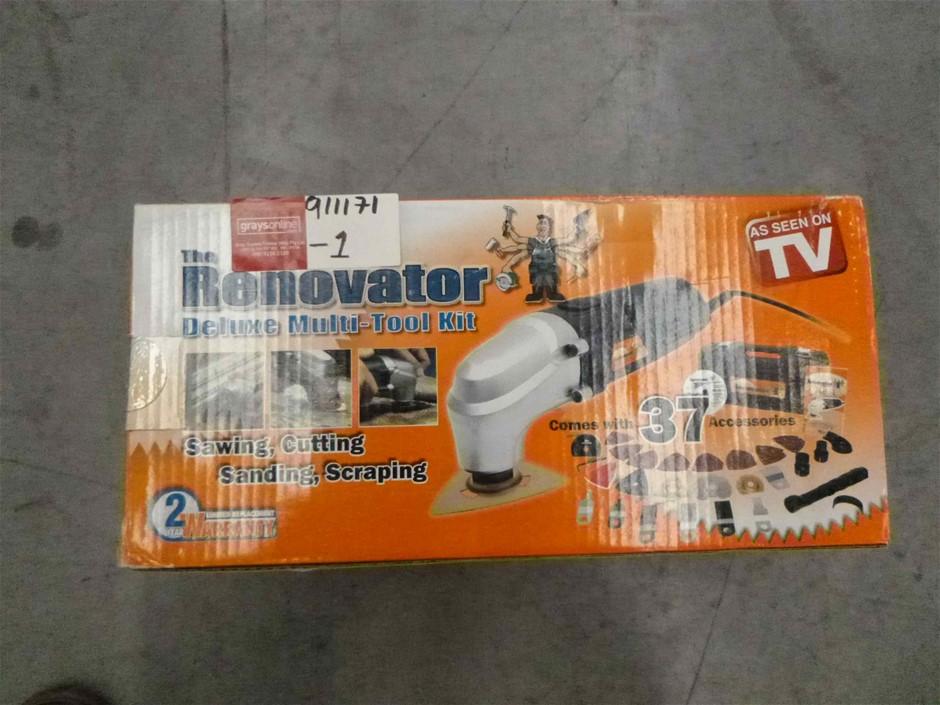 The Renovator Deluxe Multi-Tool Kit