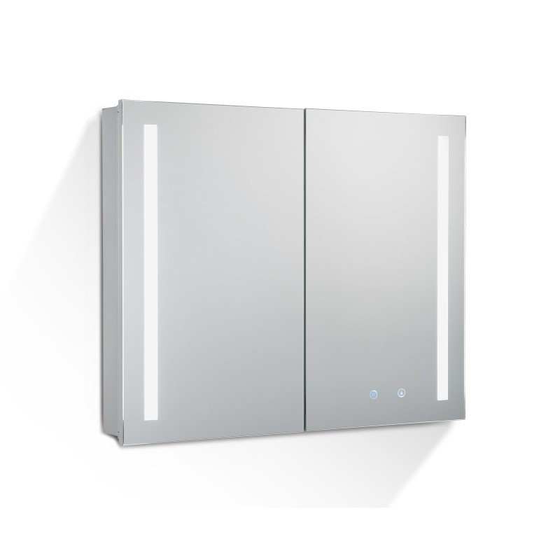 900Lx720Hx135Dmm Pencil Edge LED Cabinet with Mirror Touch Sensor Switch