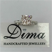 Dima Handcrafted Moissanite and Diamond Collection