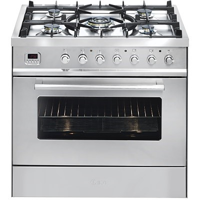 ILVE 80cm Freestanding Cooker Gas Cooktop & Electric Oven K80CWMP/I