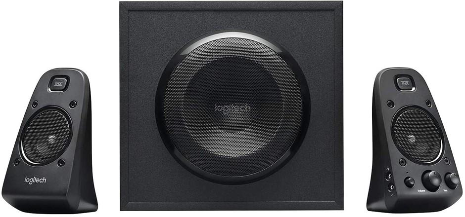 LOGITECH Z623 THX 2.1 Speaker System with Subwoofer, THX Certified Audio, 4