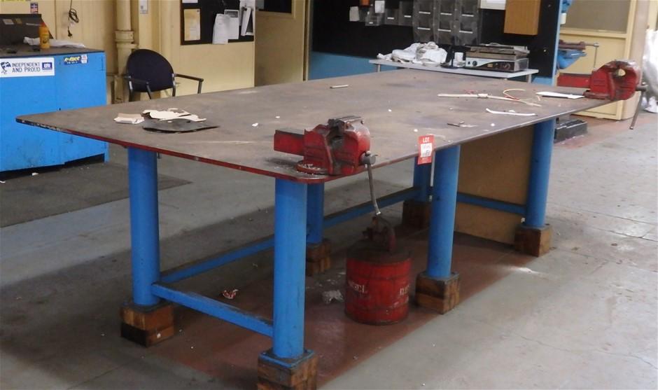 Heavy Duty Steel Fabricated Bench