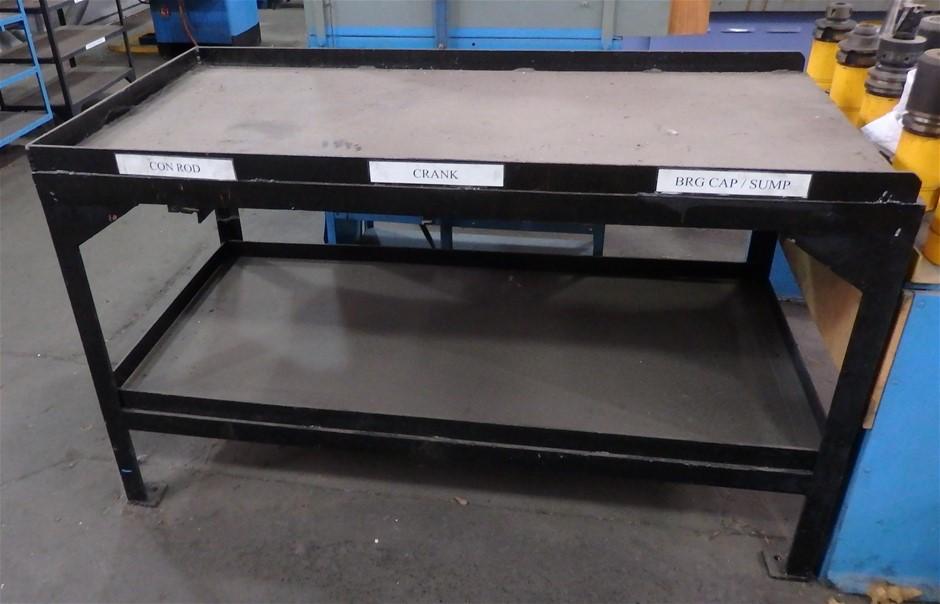 Heavy Duty Steel Fabricate Bench