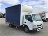 <p>2015 Mitsubishi Canter 4 x 2 Curtainsider Rigid Truck</p>