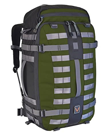 VITAL GEAR Air Rover Modular Adventure Travel Backpack, Colour Green, Size