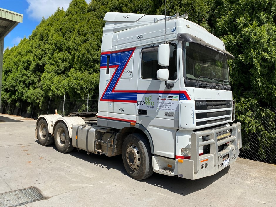 2015 DAF XF105 6X4 Prime Mover Truck