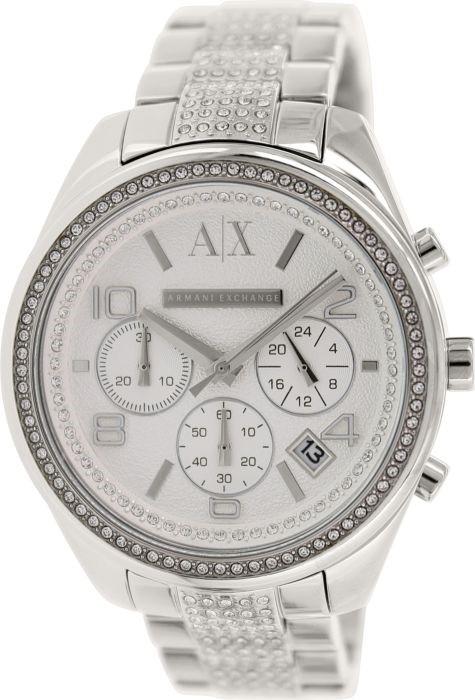Elegant new Armani Exchange chronograph unisex watch