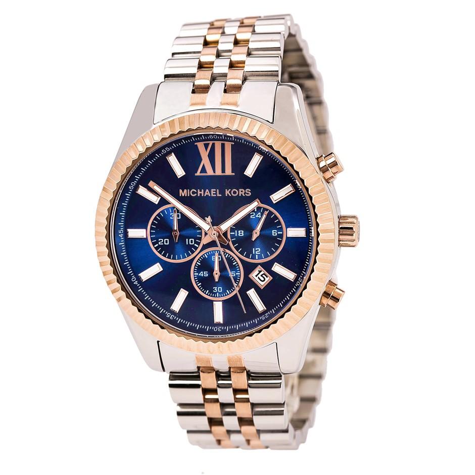 Stylish new Michael Kors Men's Lexington Two-Tone Watch