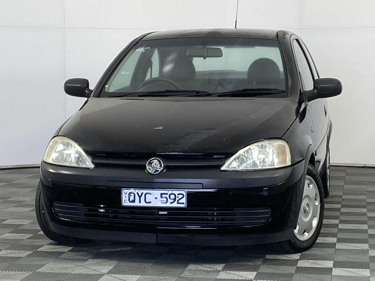 2001 Holden Barina XC Manual Hatchback