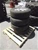 4x Hilux Rims/Tyres