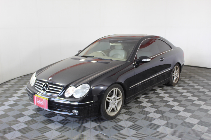 2003 Mercedes Benz CLK240 Avantgarde C209 Automatic Coupe (WOVR)