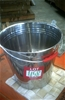 Stainless Steel 12 litre bucket. Heavy Duty. Brand New