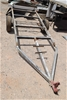 Single Axle Galvanised Boat/Flat Skel Trailer