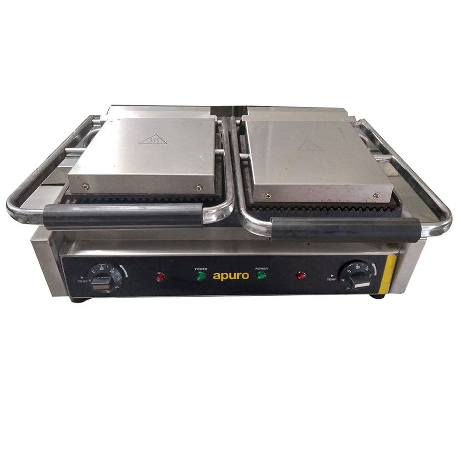 Apuro Dual Contact Split Toaster Or Grill