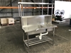 <p><b>S/Steel Bench W/ 2 x Sinks </b></p>