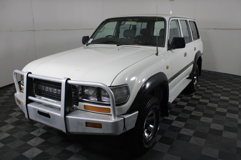 1990 Toyota Landcruiser GXL 80 Series HZJ80R Diesel 4x4 Manual Wagon