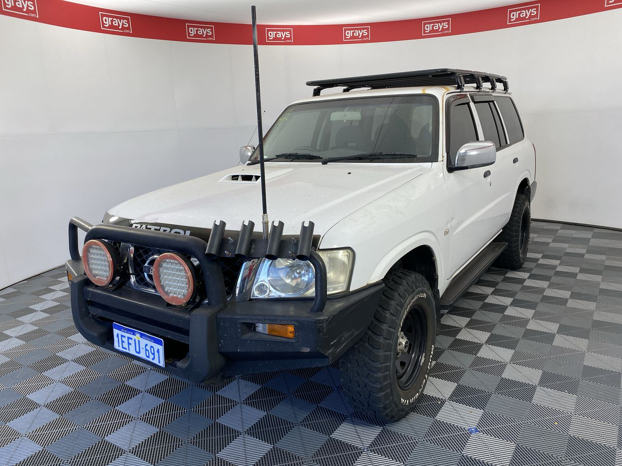 2007 Nissan Patrol DX (4x4) GU Turbo Diesel Manual Wagon