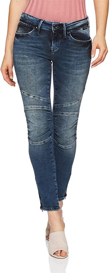 MAVI Womens Jesy Dark Gold Icon Jeans, Colour Dark Gold Icon, Size 24. Buye
