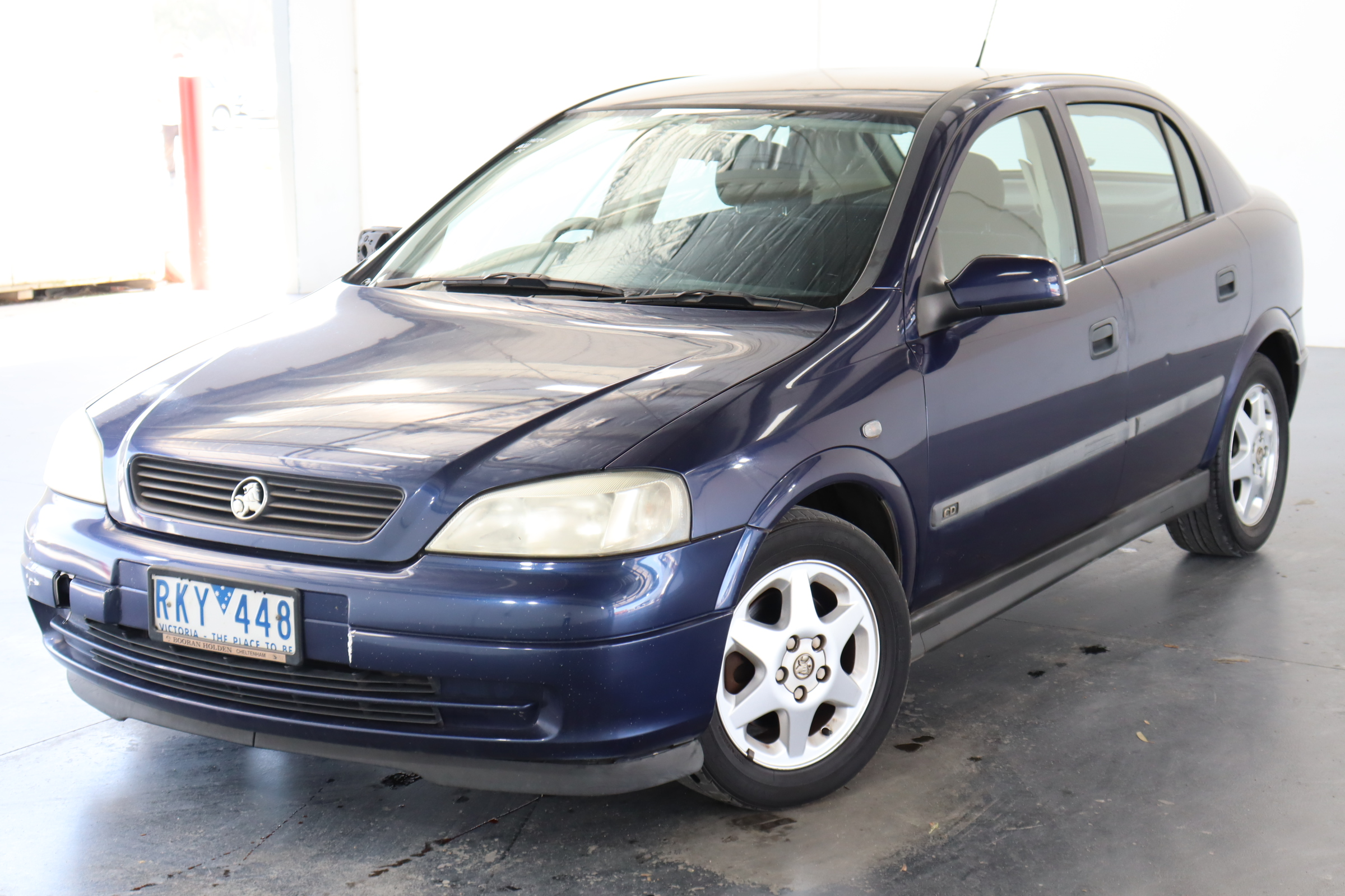 2001 Holden Astra CD TS Automatic Hatchback
