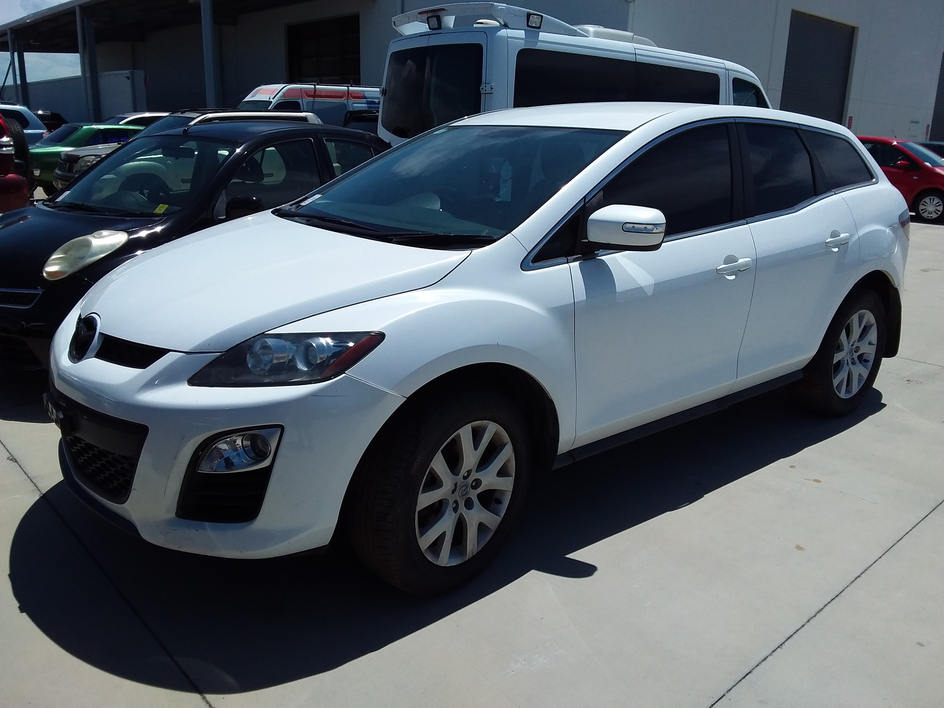 2010 Mazda CX-7 Diesel Sports (4x4) Turbo Diesel Manual Wagon
