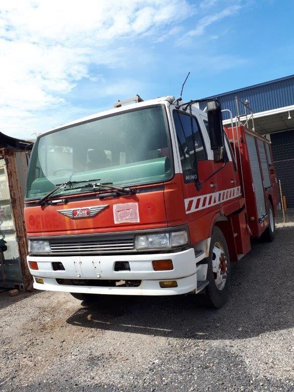 1993 Hino GH Dual Cab Ex Fire Truck