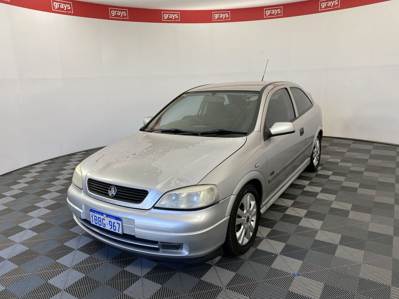 2001 Holden Astra SRI TS Manual Hatchback