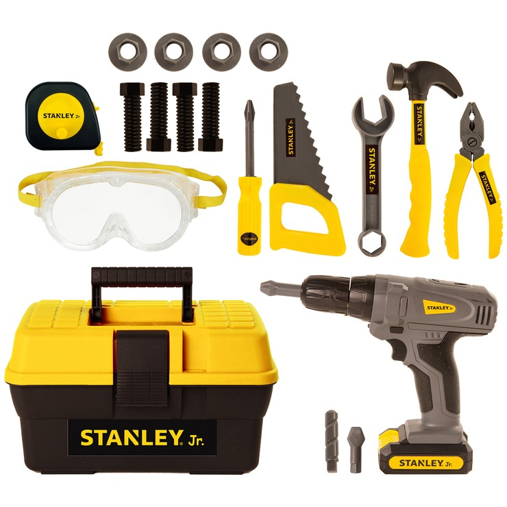 STANLEY JR Tool Kit. N.B. Has been used, some pieces may be missing. (SN:CC