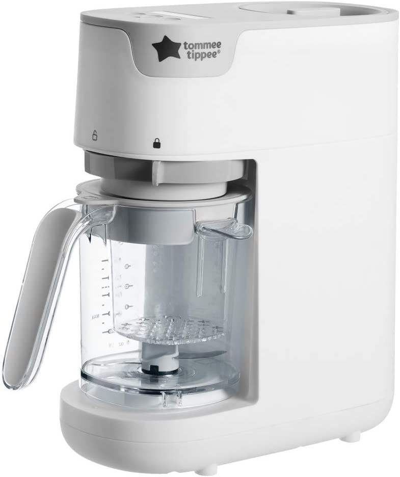 TOMMEE TIPPEE Steamer Baby Food Maker, 200g max capacity, N.B Minor Use. (S